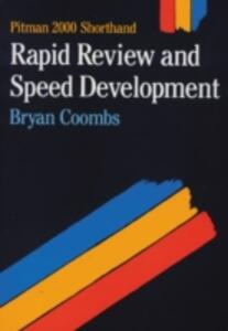 Rapid Review & Speed Dev Pit2000 - Bryan Coombs - cover
