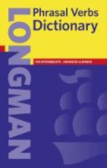 Longman phrasal verbs dictionary - copertina