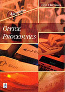 Office Procedures 4th Edition - Paper - John Harrison - cover