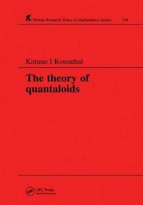 The Theory of Quantaloids - K. I. Rosenthal - cover