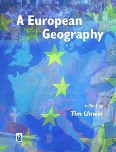 A European Geography - Tim Unwin - cover