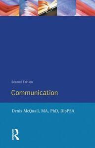 Communications - Denis McQuail - cover