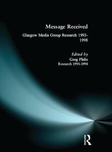 Message Received - Greg Philo - cover