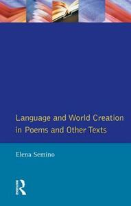 Language and World Creation in Poems and Other Texts - Elena Semino - cover