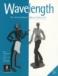 Wavelength Pre-Intermediate Workbook With Key - Kathy Burke,Julia Brooks - cover