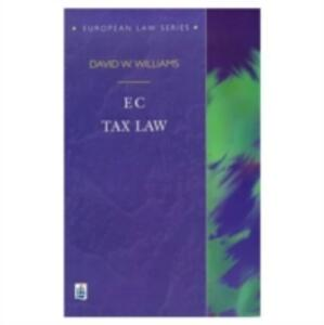 EC Tax Law - David W. Williams - cover