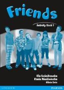 Friends 1 (Global) Activity Book - Liz Kilbey - cover