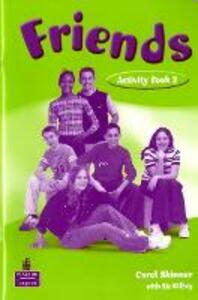 Friends 2 (Global) Workbook - Liz Kilbey - cover