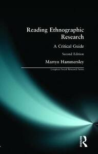 Reading Ethnographic Research - Martyn Hammersley - cover