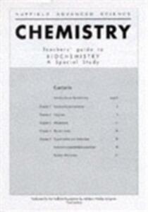 Biochemistry - Nuffield Foundation - cover