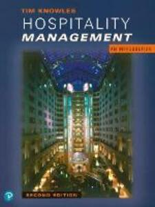 Hospitality Management: An Introduction - Tim Knowles - cover