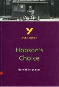 Hobson's Choice: York Notes for GCSE - Brian Dyke - cover