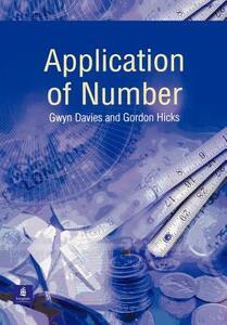 Application of Number - Gwyn Davies,Gordon Hicks - cover