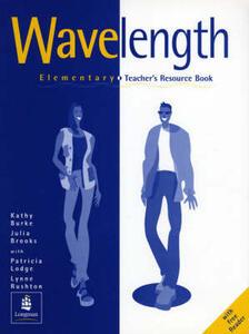Wavelength Elementary Teacher's Book - Kathy Burke,Julie Brooks - cover