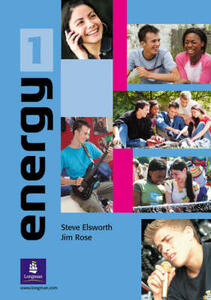 Energy 1 Students' Book plus notebook - Steve Elsworth,Jim Rose - cover