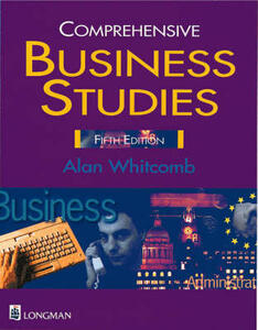 Comprehensive Business Studies Paper - Alan Whitcomb - cover