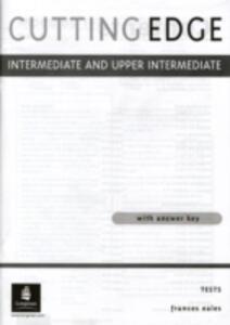 Cutting Edge Intermediate/Upper Intermediate Tests - Jonathan Bygrave - cover