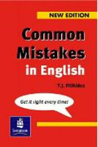 Common Mistakes in English New Edition - T. J. Fitikides - cover