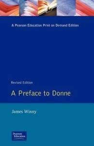 A Preface to Donne - James Winny - cover