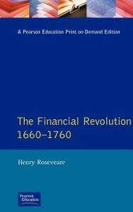 Financial Revolution 1660 - 1750, The - Henry G. Roseveare - cover