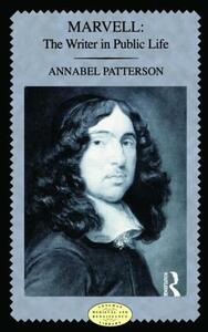 Marvell: The Writer in Public Life - Annabel M. Patterson - cover