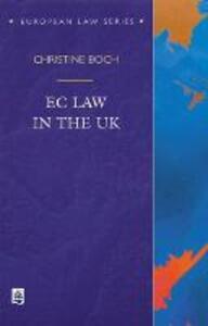 EC Law in the UK - Christine Boch - cover