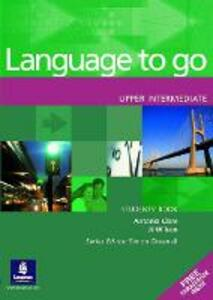 Language to Go Upper Intermediate Students Book - cover