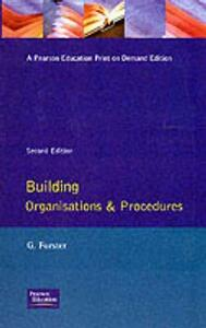 Building Organisation and Procedures - George Forster - cover