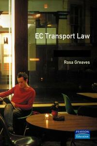 EC Transport Law - Rosa Greaves - cover