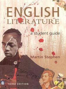 English Literature: A Student Guide - Martin Stephen - cover