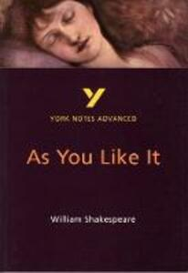 As You Like It: York Notes Advanced - Robin Sowerby - cover