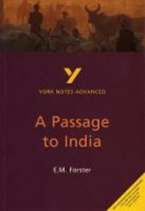 A Passage to India: York Notes Advanced - Nigel Messenger - cover