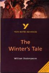 The Winter's Tale: York Notes Advanced - Jeffrey Wood - cover