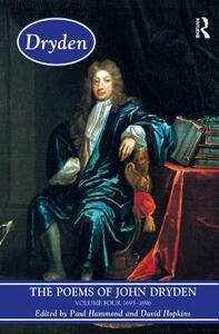 The Poems of John Dryden: Volume Four: 1686-1696 - John Dryden - cover