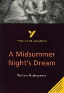 A Midsummer Night's Dream: York Notes Advanced - Michael Sherborne - cover