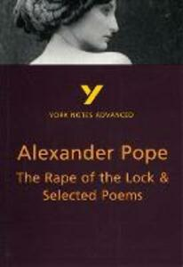 The Rape of the Lock and Selected Poems - Robin Sowerby - cover