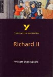 Richard II: York Notes Advanced - cover