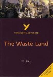 The Waste Land: York Notes Advanced - Alisdair Macrae - cover