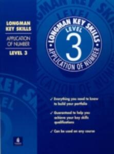 Longman Key Skills: Application of Number Level 3 - cover