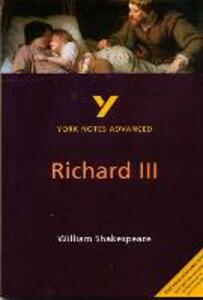 Richard III: York Notes Advanced - Rebecca Warren - cover