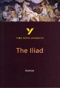 The Iliad: York Notes Advanced - cover