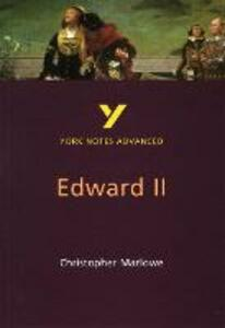 Edward II - Jill Barker,Christopher Marlowe - cover