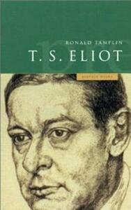 A Preface to T S Eliot - Ron Tamplin - cover
