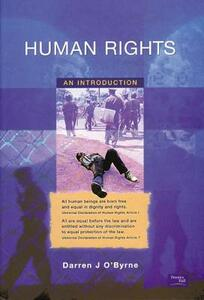 Human Rights: An Introduction - Darren O'Byrne - cover