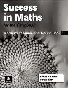 Success in Maths for the Caribbean - Althea Foster,Gerry Rose - cover