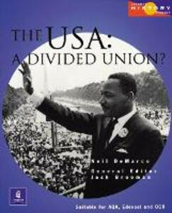 Longman History Project The USA 1917-1980 Paper - Josh Brooman,Neil DeMarco - cover