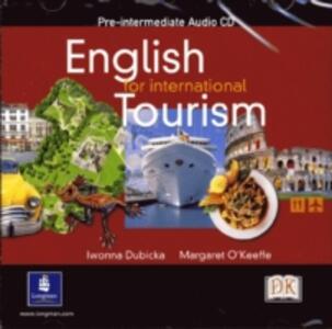 English for International Tourism Pre-Intermediate Class CD - cover