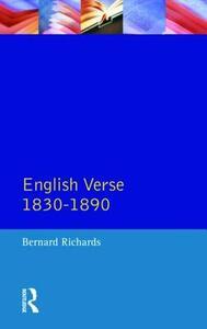 English Verse 1830 - 1890 - cover
