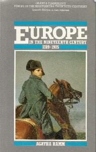Grant and Temperley's Europe in the Nineteenth Century 1789-1905 - cover