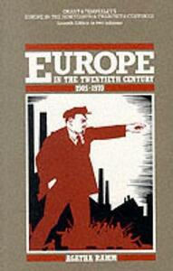 Grant and Temperley's Europe in the Twentieth Century 1905-1970 - cover